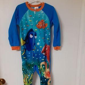 Finding nemo footie pajamas